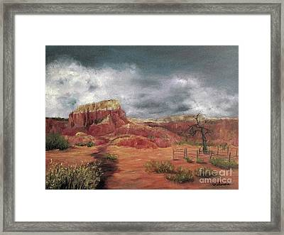 Abandoned  Ranch Framed Print