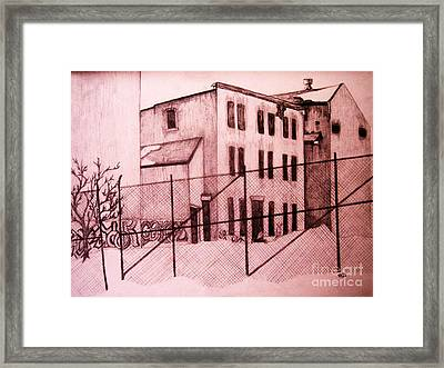 Abandoned Framed Print by Reb Frost
