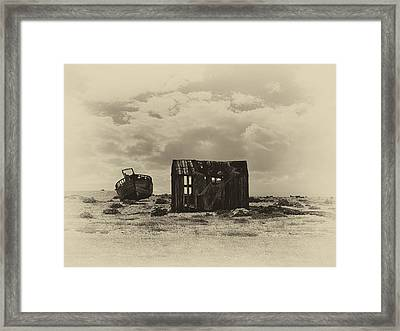 Abandoned Relics Framed Print by Sharon Lisa Clarke