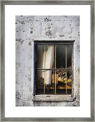 Abandoned Remnants Ala Grunge Framed Print