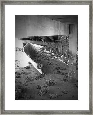 Abandoned Sailboat Framed Print by Megan Verzoni