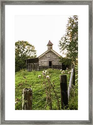 Abandoned School House Framed Print by Lisa Lemmons-Powers