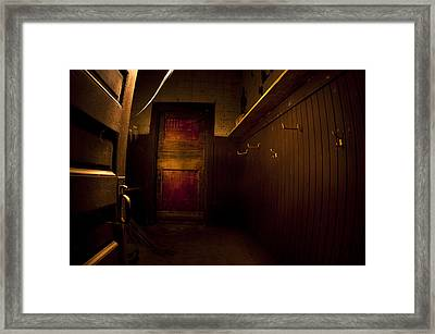 Abandoned Schoolhouse Framed Print by Cale Best
