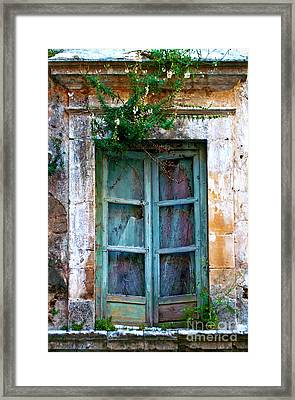 Abandoned Sicilian Sound Of Noto Framed Print
