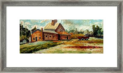 Abandoned To The Ages Framed Print by Charlie Spear