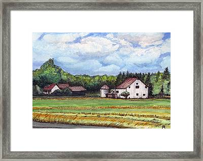 Abandoned To Yesteryears Framed Print