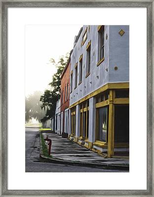 Abandoned Town Framed Print by Richard Rizzo