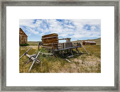 Abandoned  Framed Print by Tracey Hunnewell