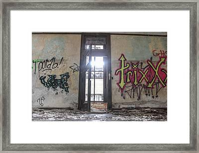 Abandoned Trixx  Framed Print