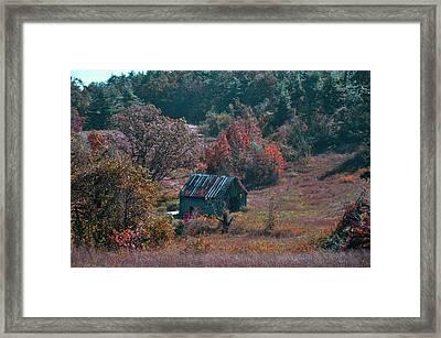 Abandoned Framed Print by Vijay Sharon Govender