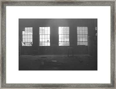 Abandoned Warehouse Framed Print by Carol Turner