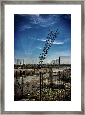 Abandoned Wasteland Framed Print by Martin Newman