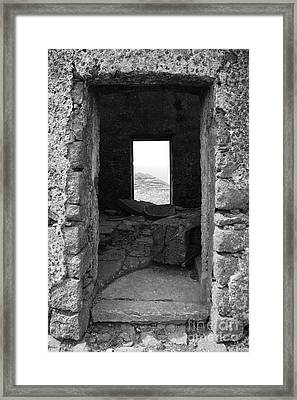 Abandoned Windmill Framed Print