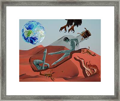 Abandonment Framed Print by Solomon Barroa
