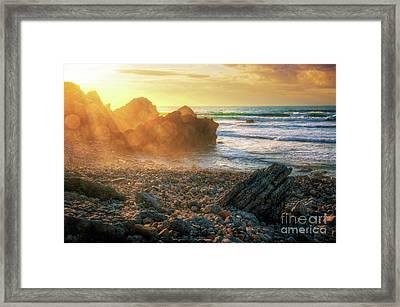 Abano Beach Framed Print