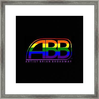 Abb Lgbt Framed Print