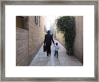 Abba Father Framed Print by Shawna Lindsey