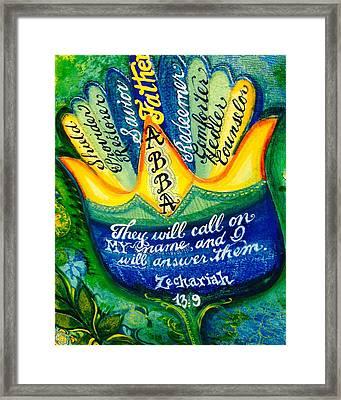 Abba Framed Print by Patricia Rex
