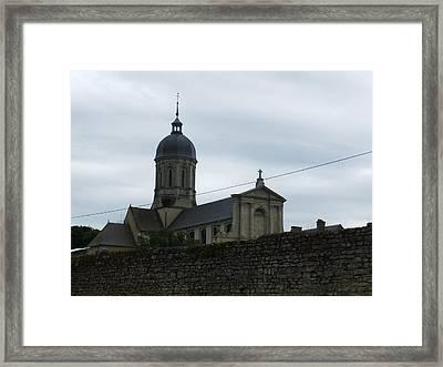 Abbey De Juaye Mondaye Framed Print