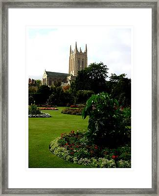 Abbey Gardens Framed Print