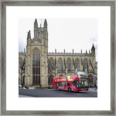 Abbey In Bath, Uk Framed Print