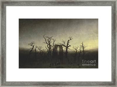 Abbey In The Oak Forest Framed Print