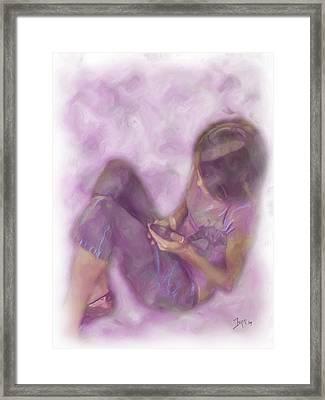 Abbiegayle Framed Print by Jeffrey Bland