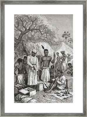 Abdullah Souzi, Jacob Wainwright Y Framed Print by Vintage Design Pics