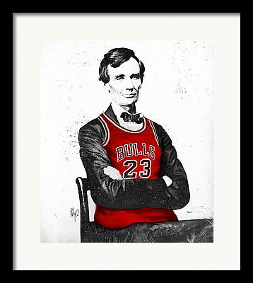 Lincoln Digital Art Framed Prints