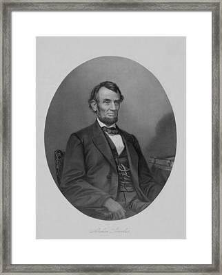 Abraham Lincoln Framed Print