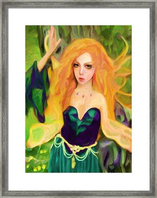 Abell - Beautiful  Framed Print by Shelley Bain
