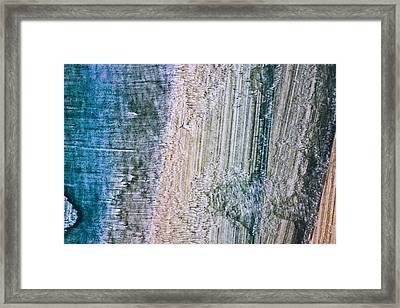 Aberration Mapping Framed Print by Ryan Kelly