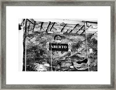 Aberto Framed Print by Marco Sadio