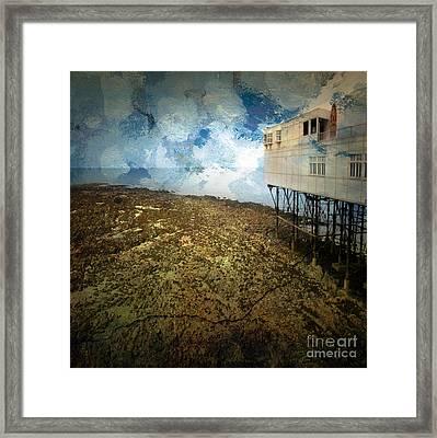 Aberystwyth Framed Print by Angel Ciesniarska