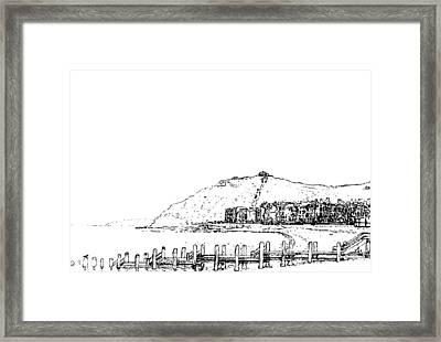 Aberystwyth Framed Print by Frank Hamilton