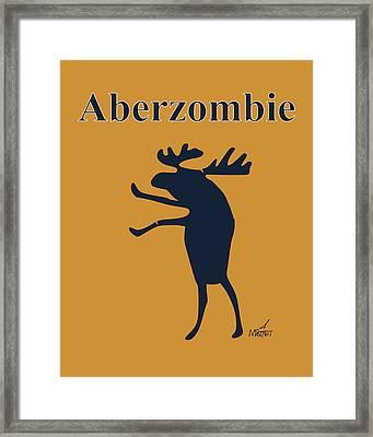 Aberzombie Framed Print