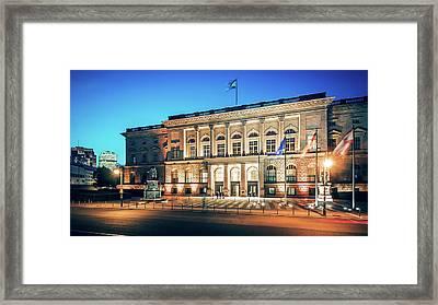 Abgeordnetenhaus Of Berlin Framed Print by Alexander Voss