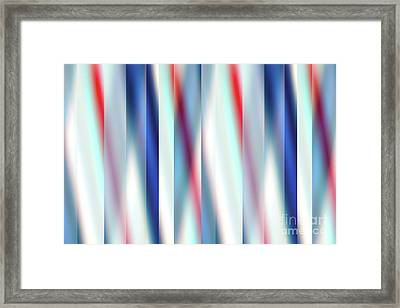 Framed Print featuring the digital art Ambient 12 by Bruce Stanfield
