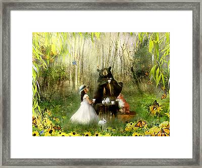 Abigails Friends Framed Print by Carrie Jackson
