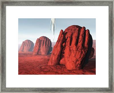 Abnegation And Truth Framed Print
