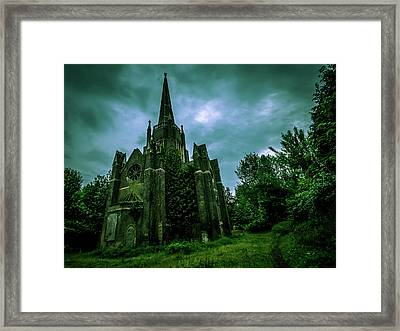 Abney Park Cemetery Framed Print by Oliver Kluwe