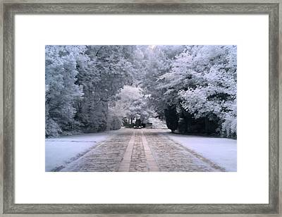 Framed Print featuring the photograph Abney Park Entrance by Helga Novelli