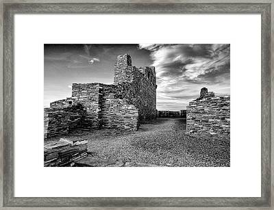 Abo Mission, Salinas Pueblo National Monument, New Mexico Framed Print by Mark Goebel