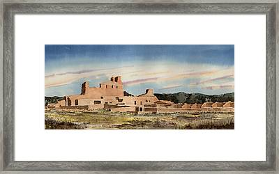 Abo Mission Framed Print
