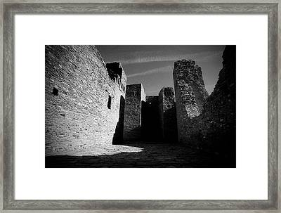Abo Ruins Framed Print by Rees Gordon