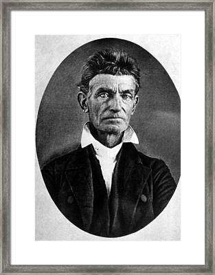 Abolitionist John Brown Framed Print