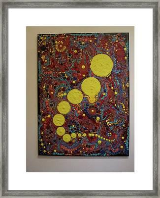 Aboriginal Dreams Of Virus Framed Print by Marc Sevigny