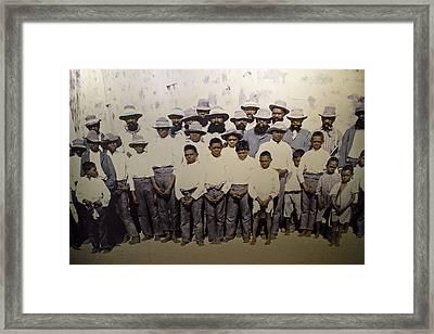 Framed Print featuring the photograph Aboriginal Life 1901 To 1914 by Miroslava Jurcik