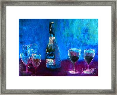 About Her Family Framed Print