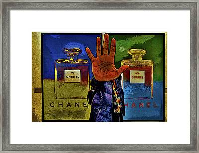About Love. Chanel No. 5 Framed Print by Andy Za